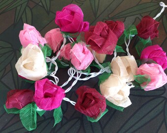 Romantic ROSE Lightblue Mix string lights For Wedding , Party,Valentine'Days