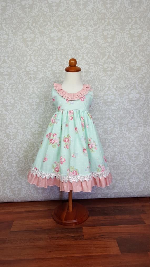Easter Emily Dress Girls toddler dress sizes 3 months 6