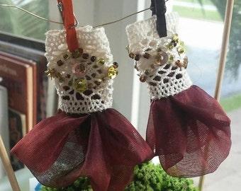 Fairy Dress Costume Miniature Woodland Fantasy Fairy Garden