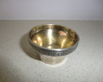 Vintage Sterling Silver Salt Cellar