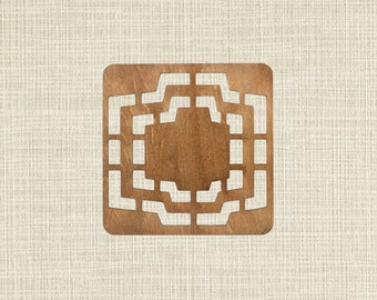 Wooden Envelope Template Multi Size