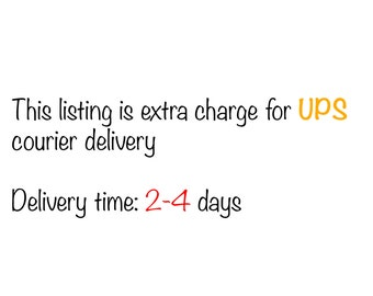 Delivery upgrade - UPS