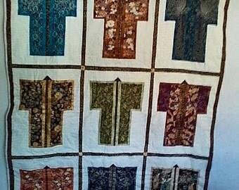 Oriental Kimono Quilt