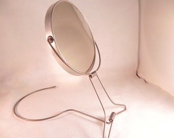 Vintage Mirror Around-The-Neck Double Faced