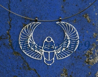 Scarab pendant  - Stainless Steel