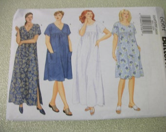 Butterick 6601 Womens 22W,24W,26W dress.   Fast and Easy