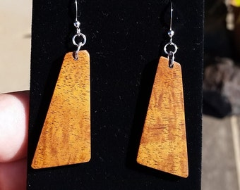Curly Koa Earrings