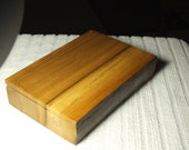 An  elm jewellery, trinket or desk tidy box with an interesting natural bark edge. Double lift out trays.
