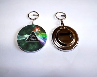 "bottle opener and keychain ""PINK FLOYD"""