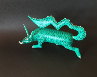 Sneaky Turquoise Coyote