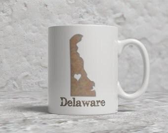Delaware Mug, Love Delaware