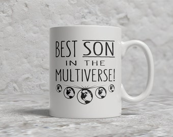 Best Son Mug, Best Son In The Multiverse