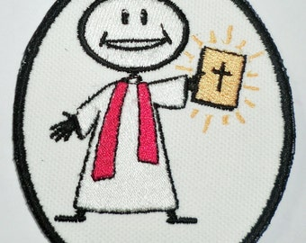 Iron-On Patch - PREACHER