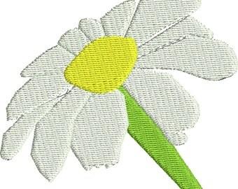 embroidery design daisy embroidery design