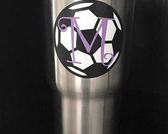 RTIC Soccer cup with initial