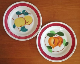 FBC Italy Fruit Plates - Set of 2