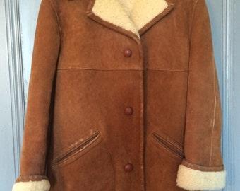 Sheepskin Coat 1960's-70's