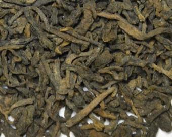 Organic  Tea - Pu~erh Black-  Medicinal and Promotes Health .Loose Leaf  -4 oz