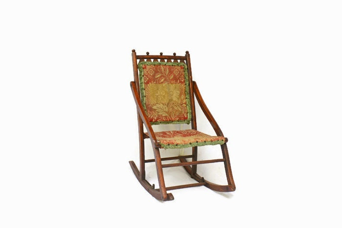 vintage rocking chair wooden rocking chair antique rocking