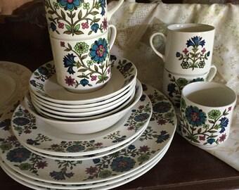 Stafforshire England MidWinter Pattern Dinnerware