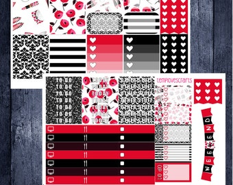 Chic Girl Kit for Erin Condren Life Planner