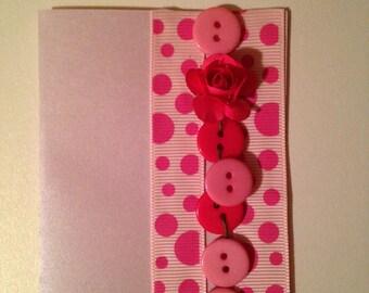 Handmade card for dear person