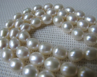 8-8.5mm Creamy White Rice Fresh Water Pearl PL61