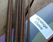 Orange Clove Scented Incense Sticks