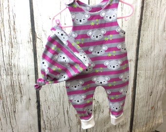 Baby set Gr. 74 gift set romper and hat