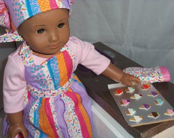 American Girl 18 inch doll Baking Outfit