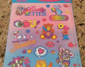 Vintage Lisa Frank Stickers MIP