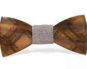 """Wooden Bowtie - """"Floyd"""" // Gifts for Him // Groomsmen Gifts"""