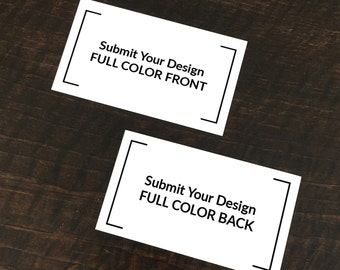 Your Design - Printed Business Cards (Set of 500)