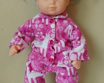 Bitty Baby Bitty Twins Unicorn Pajamas
