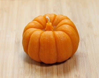 Pumpkin Beeswax Candle
