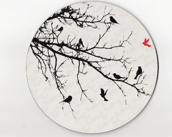 mouse pad / mousepad / bird mouse pad / bird mousepad