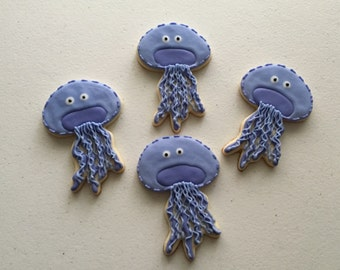 Jelly Fish Sugar Cookies