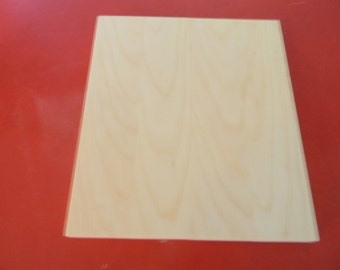 Unfinished blank wooden sign plaque