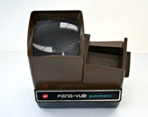 GAF Pana-Vue Automatic Slide Viewer, Lighted 2 x 2 Slide View