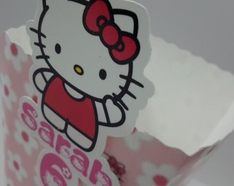 Hello Kitty Popcorn box (Pk 10)