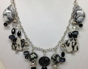Black & Gray Necklace