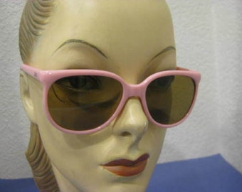 Vintage 1980s Pink Flava Flav Style Sunglasses NEW WITH TAGS