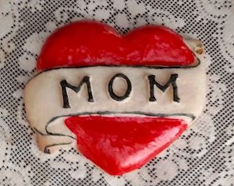 Mom Tattoo Cookie Mold