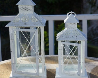 Decorative metal lanterns