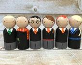 Harry Potter Peg Doll Set