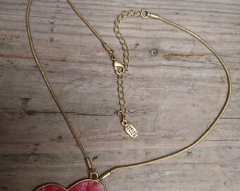 Large heart design Pilgrim necklace