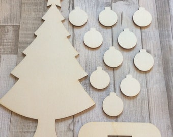 Quality laser cut  christmas tree perfect for family gift