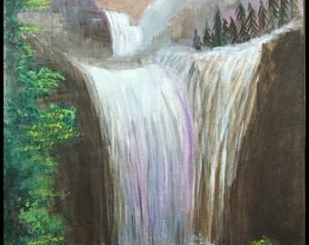 Gleaming Waterfall