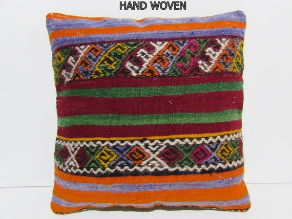 Large kilim pillow 20x20 shabby chic home by for 20x20 living room