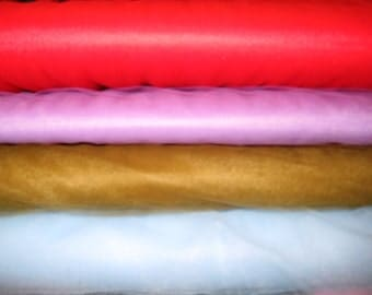 """Tulle 54"""" Fabric [Choose Your Cut Size & Color]"""